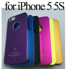 Air Jacket A5 Aluminum Metal Case Back Cover Plastic Glass SP for iPhone 5 5G 5S