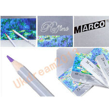 24/36/48/72 Marco Colour Colored Paint/Drawing Pencil metal Tin Set Sketch