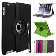Leather 360 Degree Rotating Smart Stand Case Cover For APPLE iPad Air iPad 5
