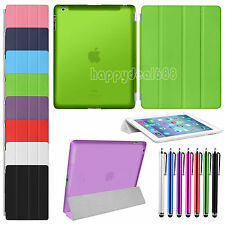 Magnetic Leather Ultra Slim Smart Stand Case Cover For Apple iPad 2 3 iPad 4 Gen