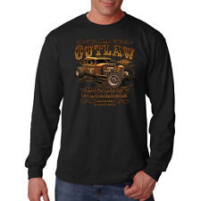 The Outlaw Hot Rod Garage Genuine Stolen Car Auto Parts Long Sleeve T-Shirt Tee