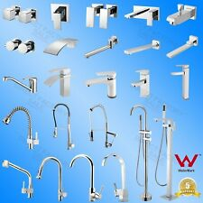 WELS Pull Out Basin Faucet Kitchen Mixer 1/4 Turn Taps bath Spout Diverter AU