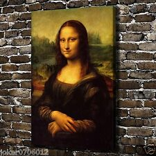 Oil Painting HD Print On Canvas Modern Deco,The Mona Lisa smile 24x36inch