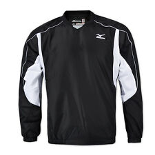 Mizuno Men Baseball Pullover Quarter Zip Windbreakers Training Jacket 12XE5V9009