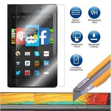 Tempered Glass Screen Protector Guard For Amazon Kindle Fire HD 6 7 8 + 3 Stylus