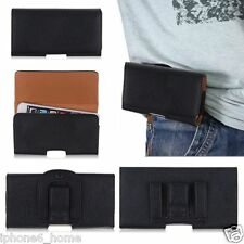 """Tradesman Black Leather Holster Case Cover + Belt Clip For iPhone 6/6s PLUS 5.5"""""""