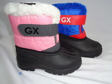 NEW Boys/Girls Toddler/Youth Snow Boots Pink/Blue/Rain/Snow/Weatherproof/Warm!!!