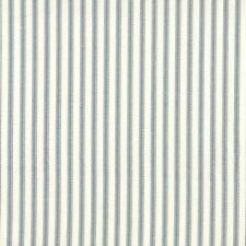 French Country Brindle Gray Ticking Stripe Shower Curtain with Valance