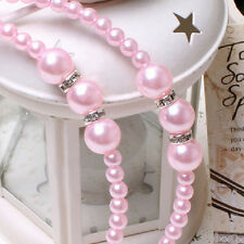 Fashion Pearl Rhinestones Headbands Princess Headwear Girls Decorations W9