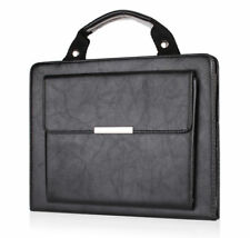 Black Carrying Handbag PU Leather Case Cover Stand For Apple iPad 2 3 4 Air Mini