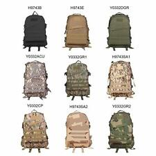 40L Outdoor Molle Military Tactical Backpack Rucksack Camping Hiking Bag ZP8C