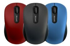 Microsoft Bluetooth Wireless Mobile Mouse 3600 Black Red Windows 10 MAC Android