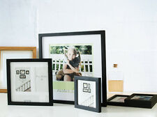 Decor Wall Hanging Black Poster Frames Wood Picture Frame Square Furniture Home