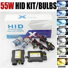55W HID Xenon Car Headlight Conversion KIT H1/H3/H4/H7/H8/H11/9005/9006/880/881