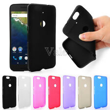 Ultra Thin Soft Matte TPU Silicone Case Cover & Film for Huawei Google Nexus 6P