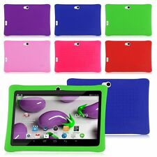 """7"""" Inch Soft Silicone Cover Case For Q88 Android Kids Girls Boys Tablet PC A13"""