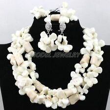 African Coral Beads Jewelry Set Traditional Nigerian Wedding Coral Beads Jewelry