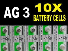 AG3 G3 LR41 392 SR41 Watch Cell Battery Coin Cells Batteries Alkaline UK B4+FREE