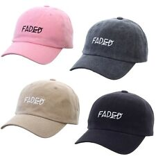 Baseball Trucker Golf Sports Size Adjustable Hats FADED LETTER BALL CAP
