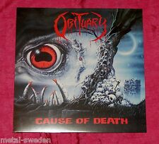 OBITUARY - CAUSE OF DEATH - 11tr LP - NED 2010