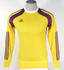 Adidas AdiZero Onore 14 GK Yellow & Purple Long Sleeve GoalKeeper Jersey Men NWT