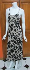 Kensie  Adjustable Spaghetti Strap Lined Viscose Maxi Tie Dye Dress Sz S , M NWT