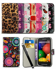 Print Pattern Wallet Case For Nokia Lumia 730 Mobile Phone Flip Cover & Stylus
