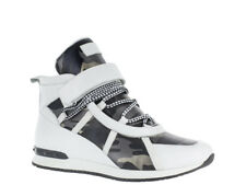 Vlado Footwear Men's MOGUL Leather Hi-Top Shoes White VL-5200-1
