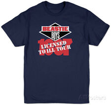 The Beastie Boys - Licensed to Ill T-Shirt Blue New Shirt Tee