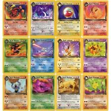 Team Rocket - Pokemon Trading Cards - Near Mint Common & Uncommon Cards