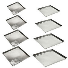 TABLET ALUMINUM SQUARE HAMMERSCALE MASSIVE SERVING TRAY BOTTOM TRAY