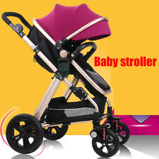 New Luxury Baby Stroller,Pushchair Seat infant Carry Cot baby carriage baby car