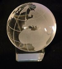 HOM House of marbles Glass Marble Crystal World Map 30mm Or 60mm