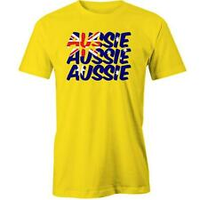 Aussie Aussie Aussie T-Shirt Australia Day Australian Country Proud Tee New