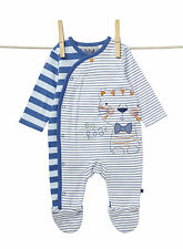 SALE! BABY BOY BHS BRITISH HOME STORES PLAY/SLEEPSUIT 0-3 MONTH BNWT