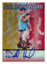 2011 LEAF VALIANT DILLON HOWARD RC RED REFRACTOR AUTO AUTOGRAPH INDIANS #1/1