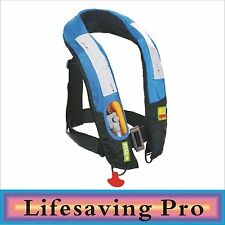 Premium Quality Manual Inflatable Life Jacket Life Vest Highly Visible PFD NEW