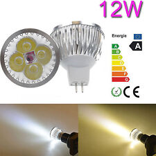 3x AC/DC 12V 12W 4x3W MR16 LED Spot Light Bulb High Quality Home Decor Lamp Bulb