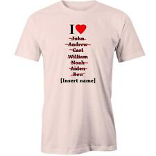 I Love Valentines Day T-Shirt Day Gift Idea Him Her Boyfriend Girlfriend Couples