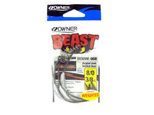 OWNER BEAST HOOK 5130W WEIGHTED TWISTLOCK SWIMBAIT 4/0 6/0 8/0 10/0 SELECT SIZE