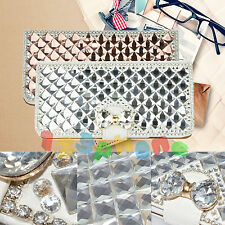LUXURY BLING HANDMADE CRYSTAL DIAMOND RHINESTONE CASE COVER FOR IPHONE 6 5 SE
