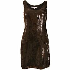 DIANE VON FURSTENBERG DVF Pellina Paillette Sequin Party Dress 4 6 NEW WITH TAGS