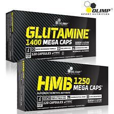 Glutamine + HMB 60-180 Caps. Anti-Catabolic Recovery Lean Muscle Development
