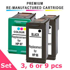 HP 96 + HP 97 Value Pack (3, 6 or 9) Remanufactured Ink Cartridge Set, Deskjet