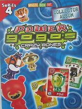 GOGOS CRAZY BONES  SERIES 4 POWER - MOST WANTED FIGURES