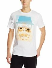 Breaking Bad WALTER WHITE HEISENBERG SKETCH - FACE AND RV T-Shirt NWT Licensed
