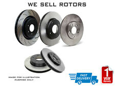 2*Front Disc Rotors for HOLDEN Astra AH SRI 2.2L 1.9L 2007-2010 Vented 308mm