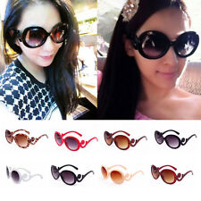 1x UV400 Fashion Women's Retro Vintage Oversized Frame Sunglasses Shades QGE