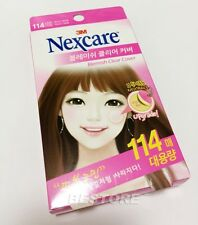 X114P Korea 3M Nexcare Blemish Clear Cover Patch Acne Treatments Mixed Size