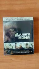 Rise of the Planet of the Apes, French Steelbook
